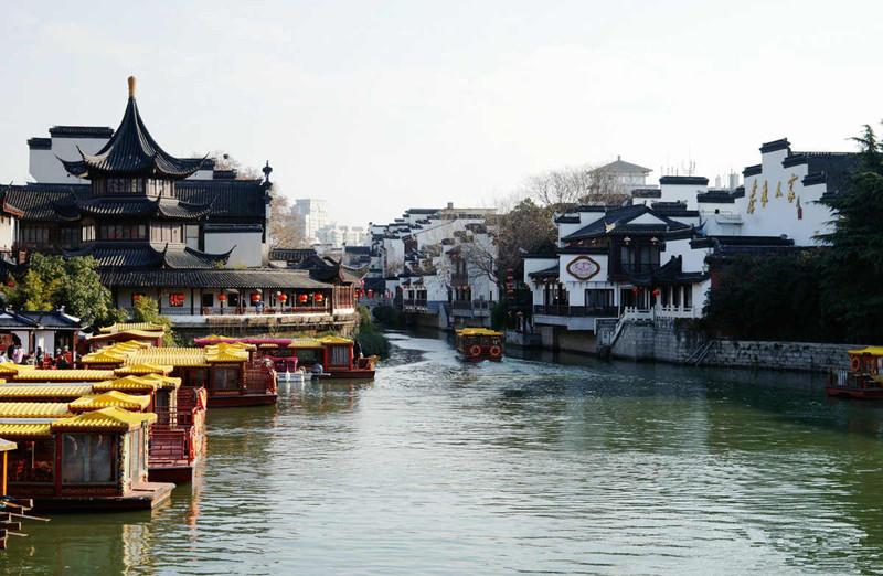 Qinhuai River in Nanjing