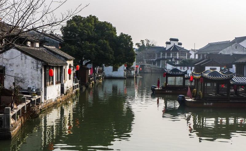 Tongli Water Town in Suzhou
