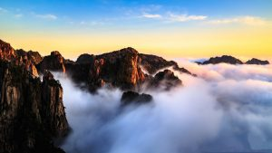 Yellow Mountain-Mount Huangshan in Anhui
