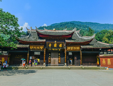 Baoguo Temple in Emeishan