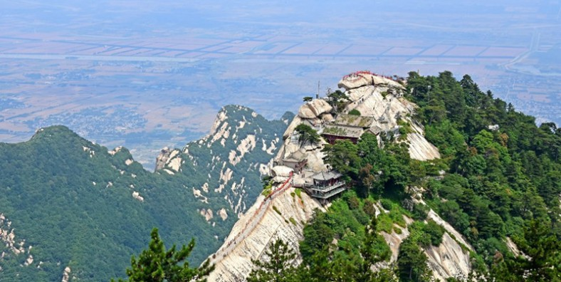 1 Day Huashan Mountain Tour from Xian