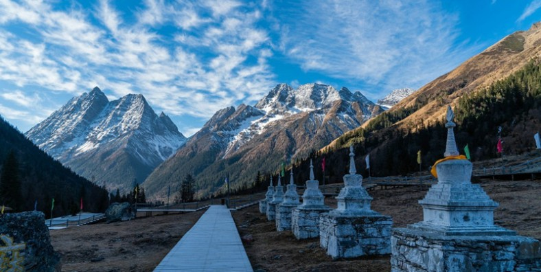 5 Days Mount Siguniang's Changping Valley to Bipeng Valley Hiking Tour