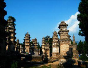 Pagoda Forest at Shaolin Temple in Dengfeng, Zhengzhou