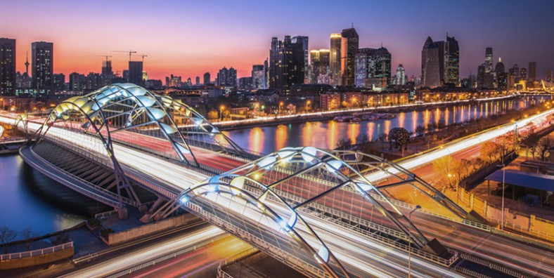 Tianjin Haihe River Night Cruise Tour