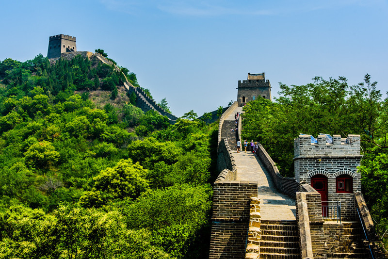 Huangyaguan Pass Great Wall in Jixian County, Tianjin