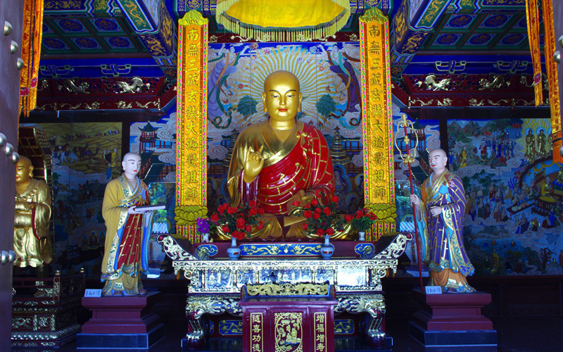Xingjiao Temple in Xian