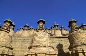 108 Buddhist Pagodas in Yinchuan