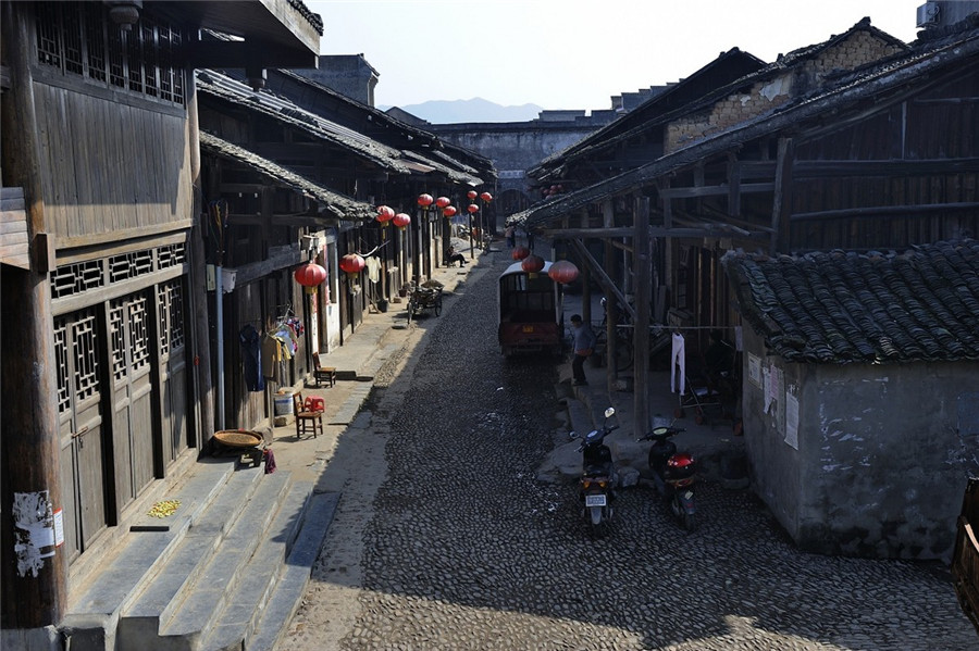 Daxu Ancient Town in Lingchuan County, Guilin
