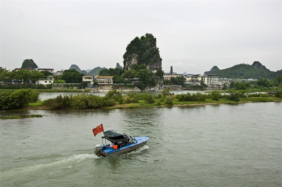 Fubo Hill in Guilin
