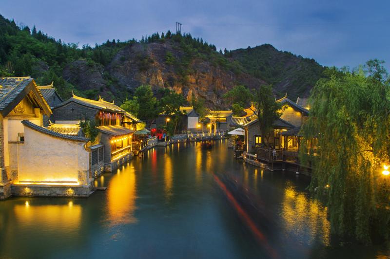 Gubei Water Town in Beijing