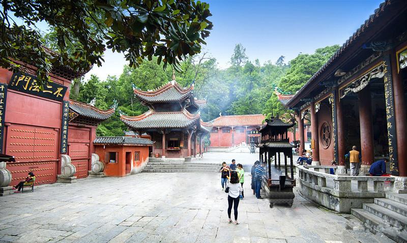 Hongfu Temple in Guiyang