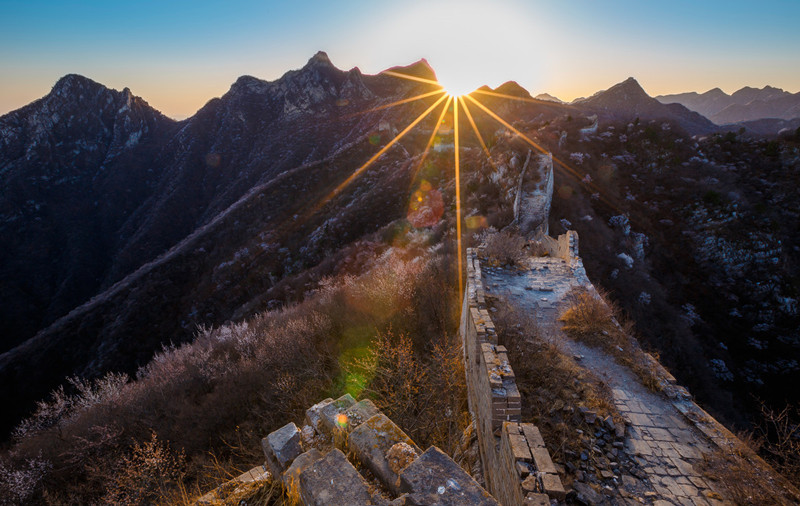 Jiankou Great Wall in Beijing