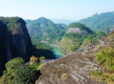 Jiuqu Stream in Wuyi Mountain, Fujian