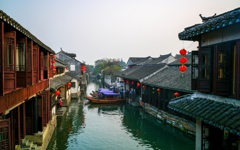 Zhouzhuang Water Town in Suzhou