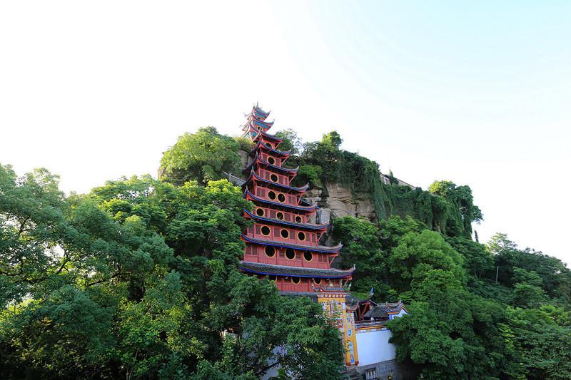 Shibaozhai in Zhongxian County, Chongqing