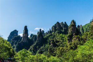 Ten-mile Natural Gallery in Zhangjiajie