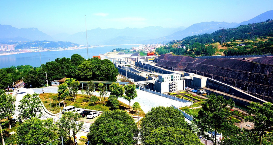 Three Gorges Dam of Yangtze River in Yichang