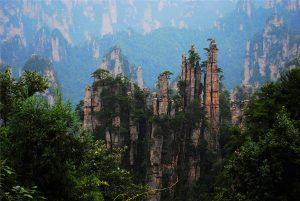 Tianzi Mountain Nature Reserve in Zhangjiajie