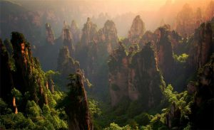 Tianzi Mountain Nature Reserve in Zhangjiajie