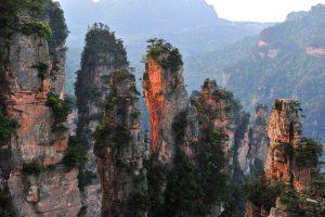 Wulingyuan Scenic Area in Zhangjiajie
