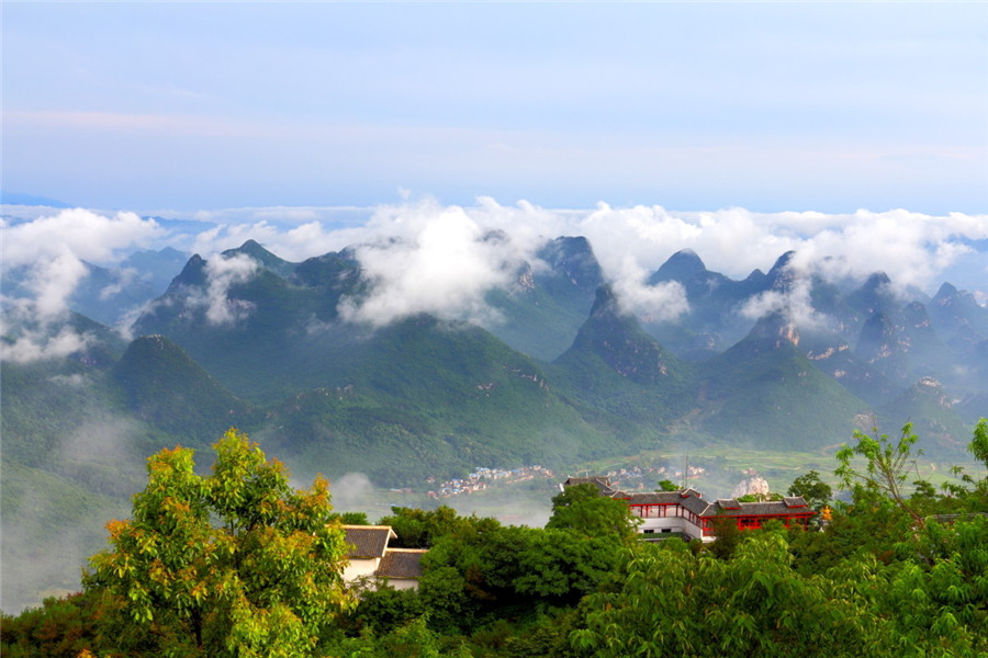Yao Mountain in Guilin