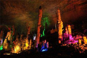 Yellow Dragon Cave in Wulingyuan District, Zhangjiajie