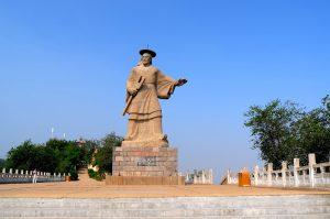 Yellow River Scenic Area in Zhengzhou