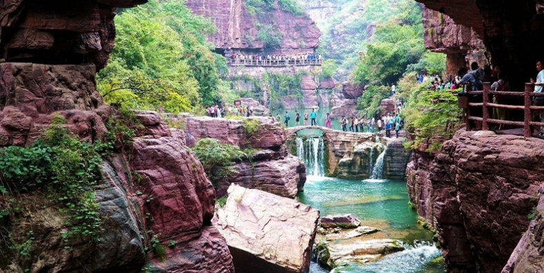1 Day Yuntai Mountain Highlights Tour