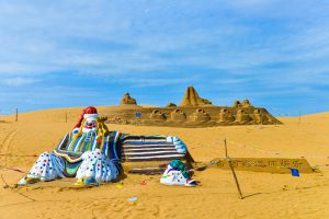 The Whishtling Dune Bay, Ordos