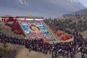 Langmusi Monastery in Gannan, Gansu