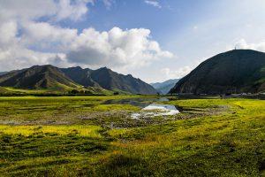Sangke Grassland in Xiahe, Gannan