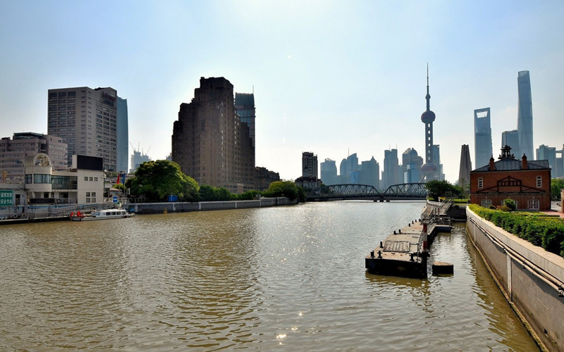 Suzhou Creek in Shanghai