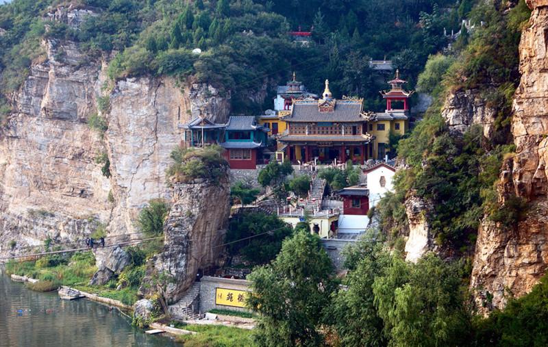 Shidu Scenic Area In Fangshan District Beijing China