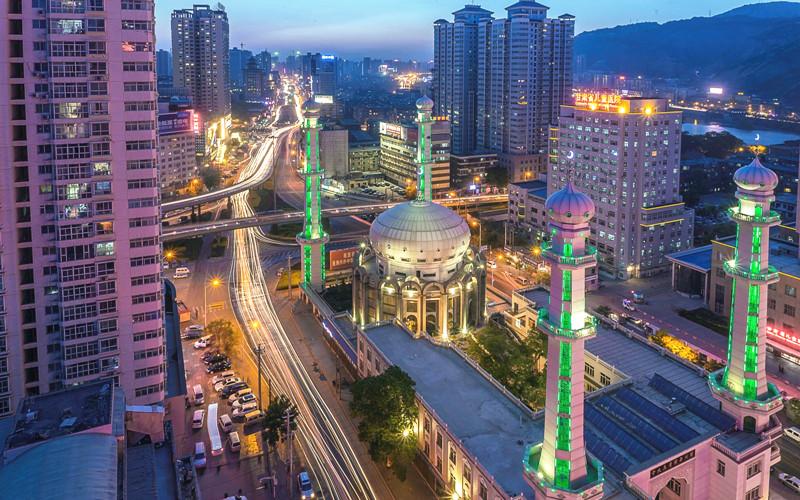 Xiguan Mosque in Lanzhou