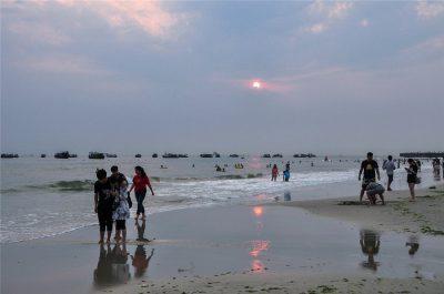 Silver(Yintan) Beach, Beihai