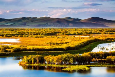 Genhe Wetland in Hulunbuir City