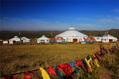Golden Horde Mongolian Tribe in Hulunbuir City
