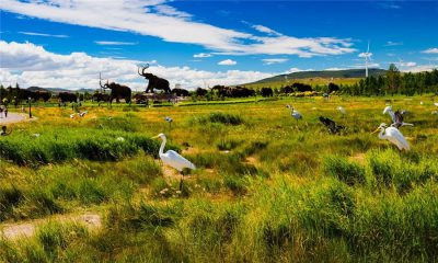 Mammoth Park in Hulunbuir City