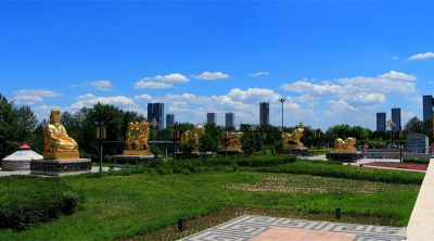 Mongolia Chess Square in Hohhot