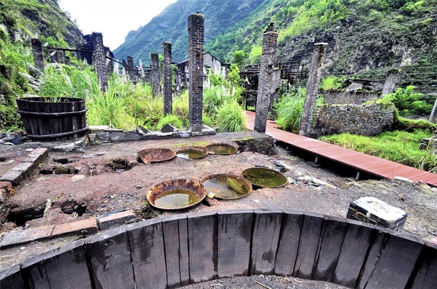 Ningchang Ancient Town in Wuxi County, Chongqing