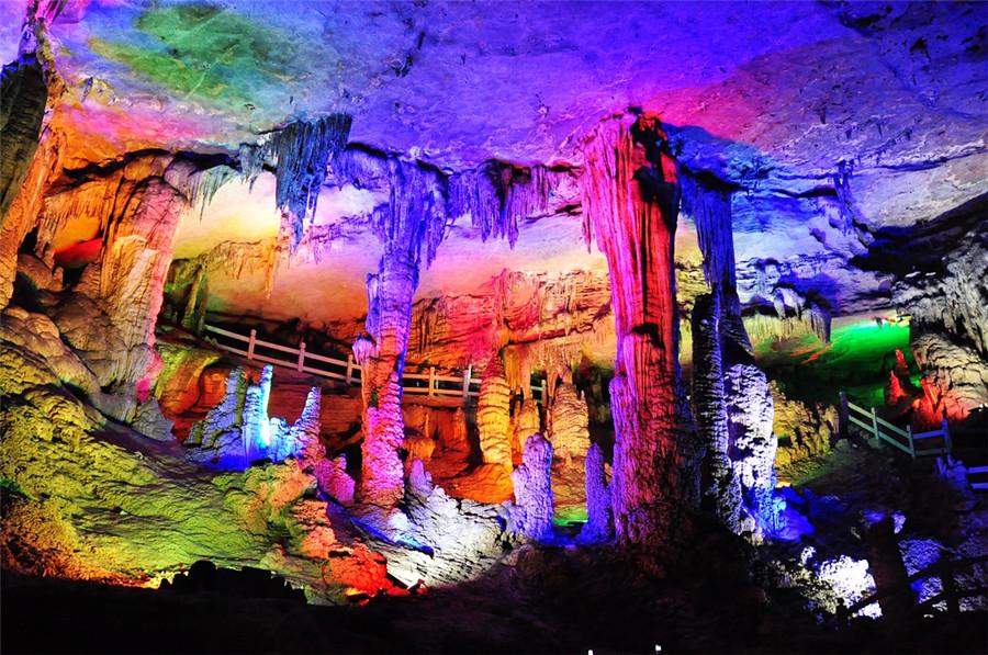 Nine-dragon Cave Scenic Area in Tongren