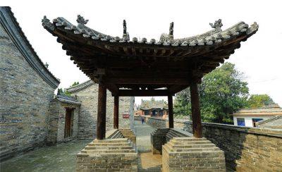 Zhangbi Ancient Castle in Jiexiu City, Jinzhong