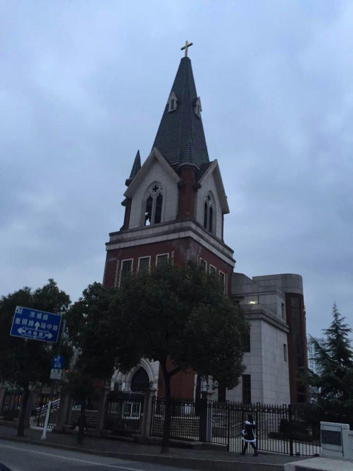 Jiangwan Church in Shanghai