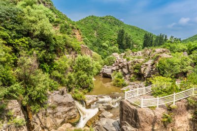 Wulong Canyon in Yanqing District, Beijing-24