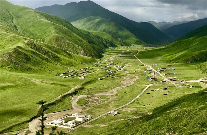 Luoruo Village in Sertar County, Garze