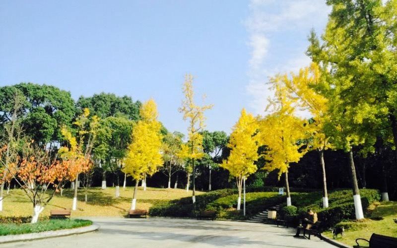 Zhongtang Park in Suzhou