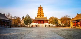 Big Wild Goose Pagoda Square-01